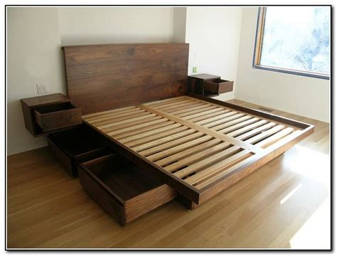 Diy-Bed-With-Drawers