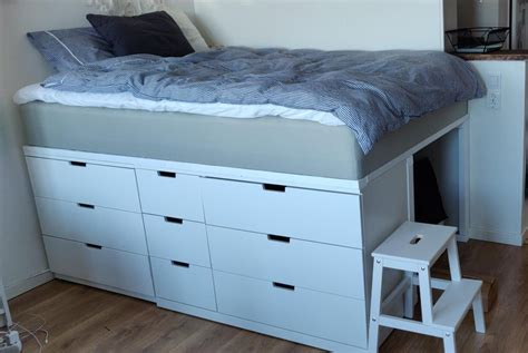 Diy-Bed-With-Drawers-Underneath