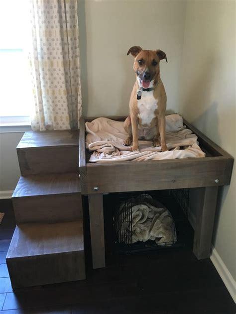 Diy-Bedside-Platform-Dog-Bed