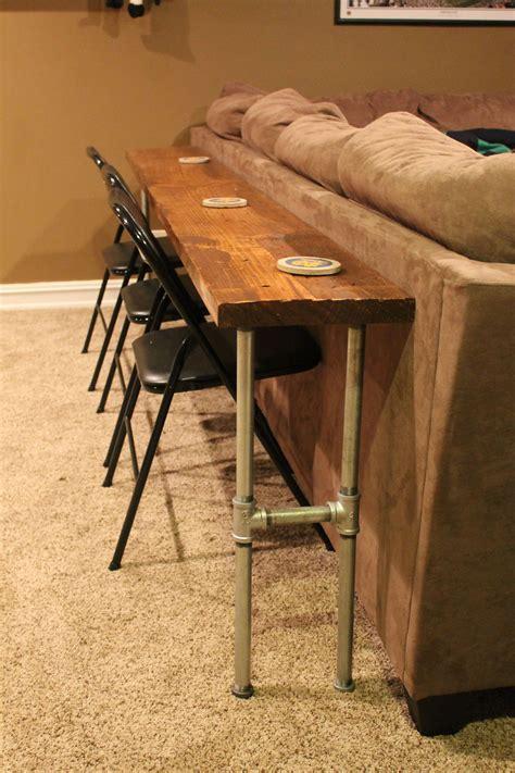 Diy-Behind-Sofa-Bar-Table