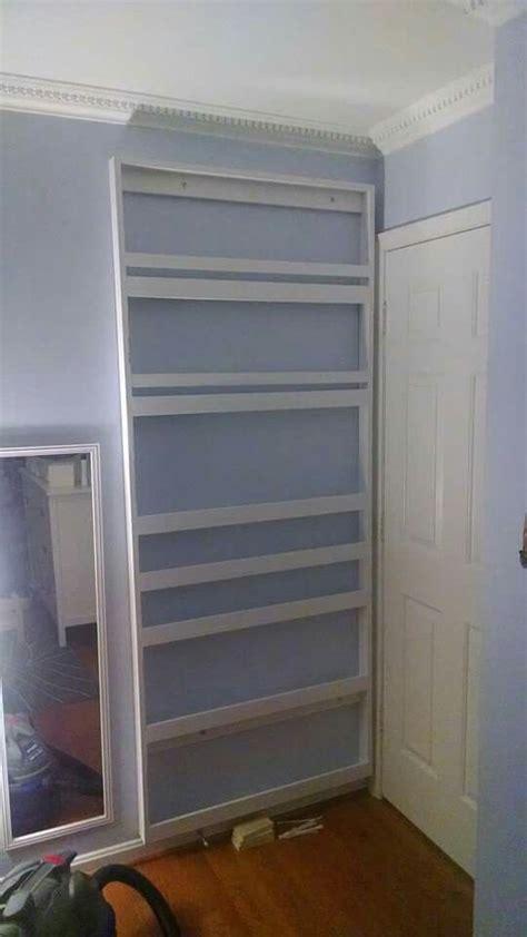 Diy-Behind-The-Door-Bookshelf