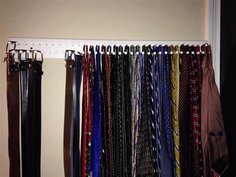Diy-Belt-And-Tie-Rack