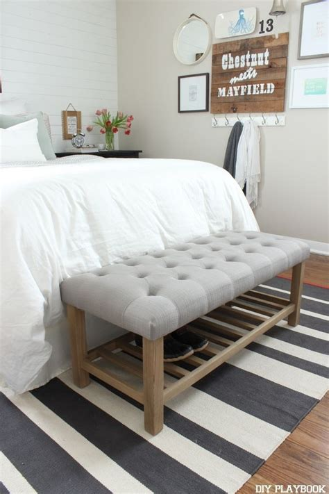 Diy-Bench-For-The-Foot-Of-The-Bed