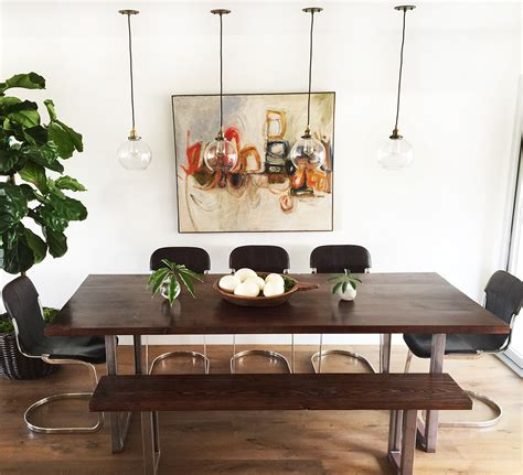 Diy-Bench-Style-Dining-Table