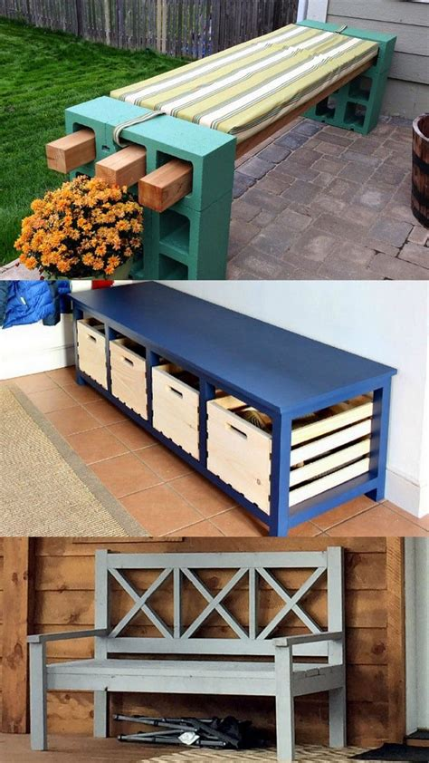 Diy-Bench-With-Back-And-Storage