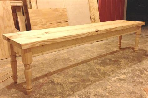 Diy-Bench-With-Turned-Legs