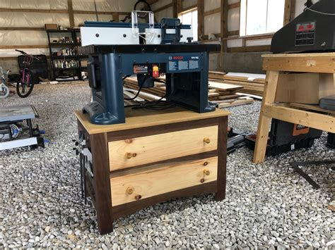 Diy-Benchtop-Router-Table-Stand