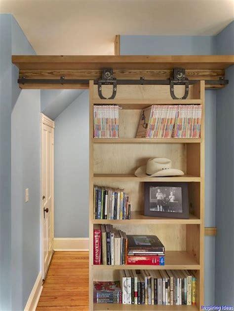Diy-Bifold-Bookcase-Door
