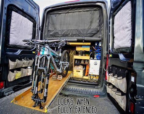 Diy-Bike-Rack-Inside-Van