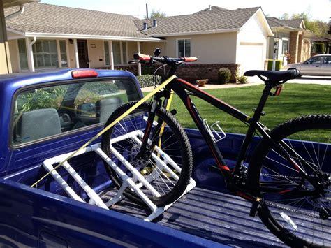 Diy-Bike-Truck-Rack