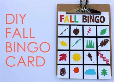 Diy-Bingo-Card