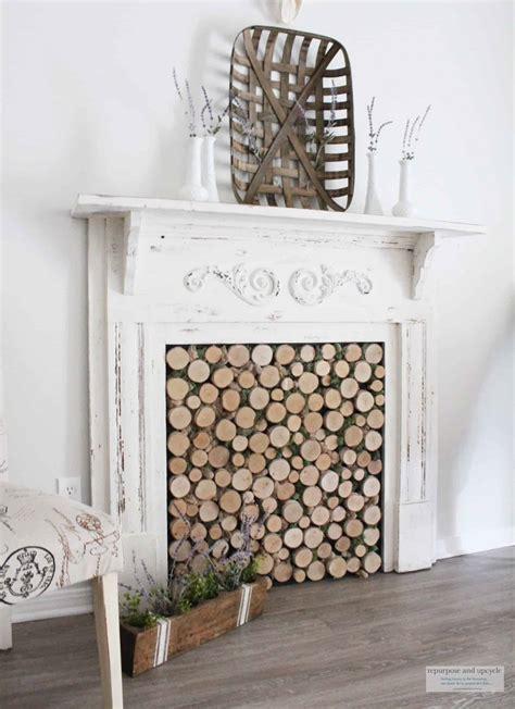 Diy-Birch-Wood-Fireplace-Cover