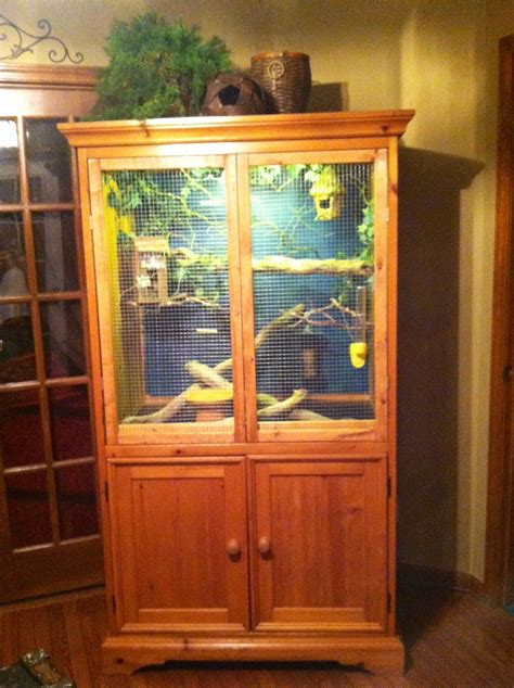 Diy-Bird-Cage-From-Furniture