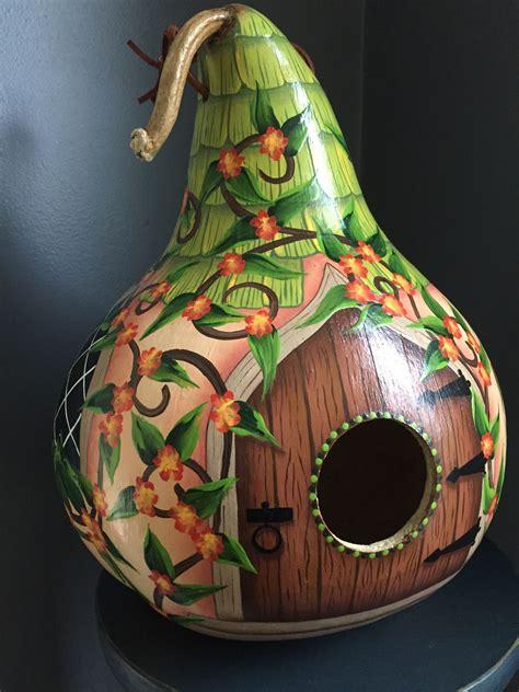 Diy-Birdhouse-Gourd-Crafts