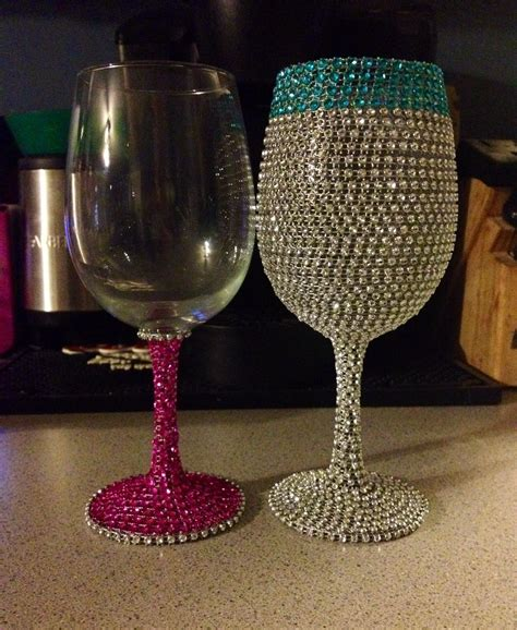 Diy-Bling-Wine-Glasses