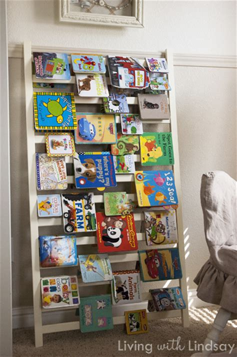 Diy-Book-Rack-Out-Of-Side-Of-Old-Crib