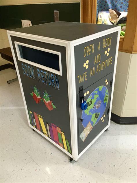 Diy-Book-Return-Box