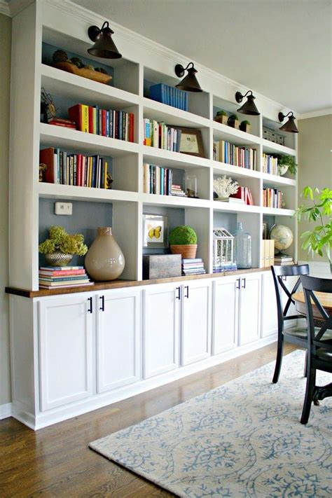 Diy-Bookcase-With-Cabinets