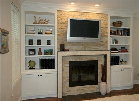 Diy-Bookshelf-Around-Fireplace