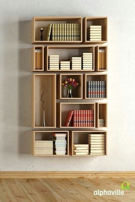 Diy-Bookshelf-Without-Wood