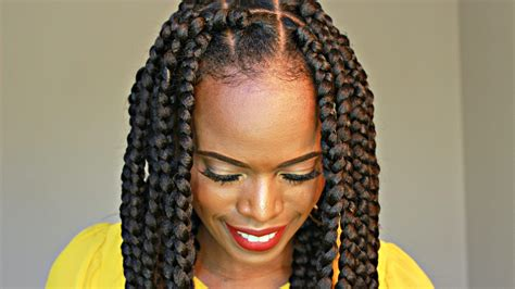 Diy-Box-Braids-Natural-Hair