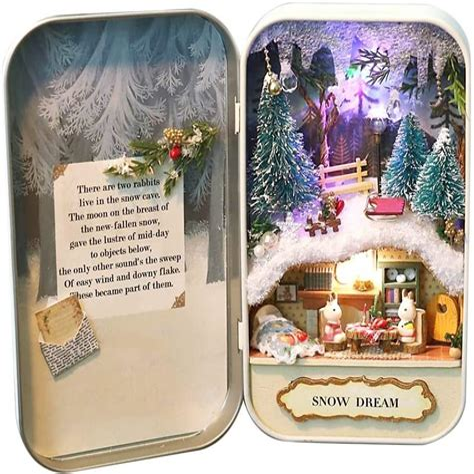 Diy-Box-Theatre-Snow-Dream