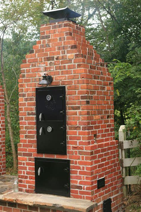 Diy-Brick-Smokehouse