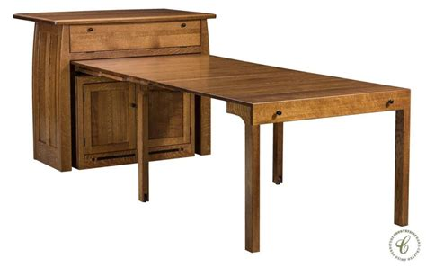 Diy-Buffet-With-Pull-Out-Table