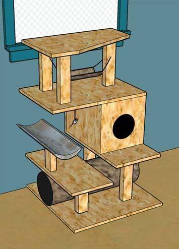 Diy-Build-A-Cat-Tree