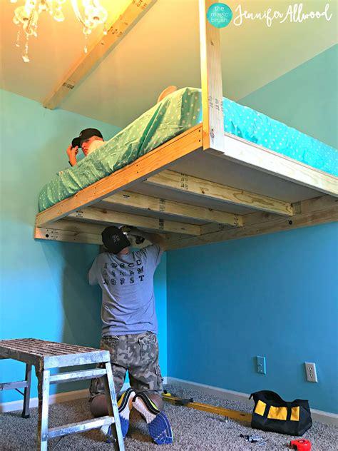 Diy-Build-A-Loft-Bed