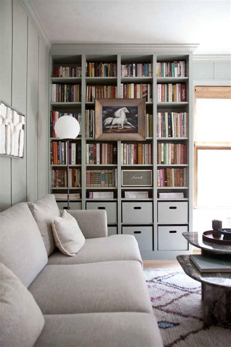 Diy-Built-In-Bookcase-Ikea-Hack