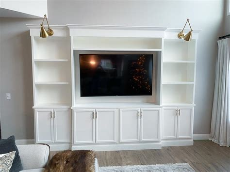 Diy-Built-In-Media-Center