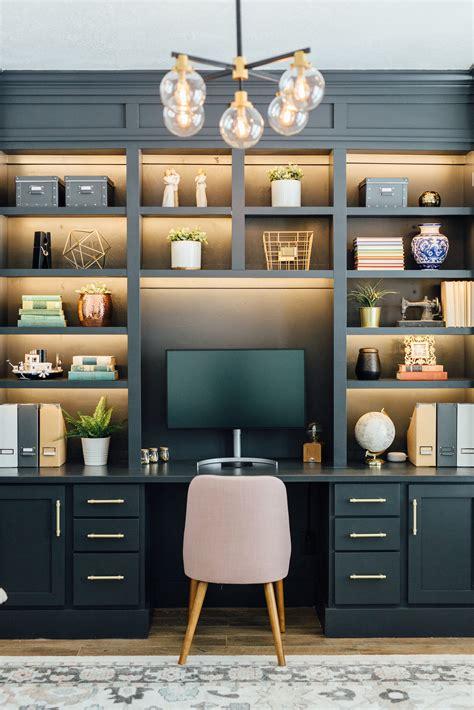 Diy-Built-In-Office