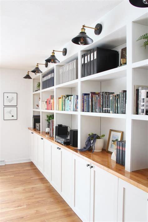 Diy-Built-In-Shelves-Ikea-Hack