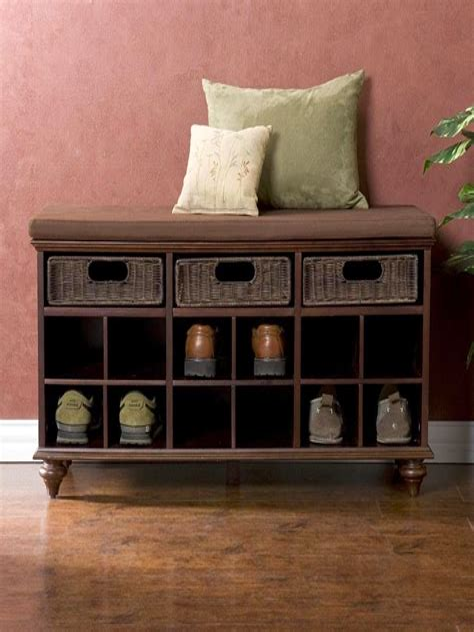 Diy-Built-In-Shoe-Storage-Bench