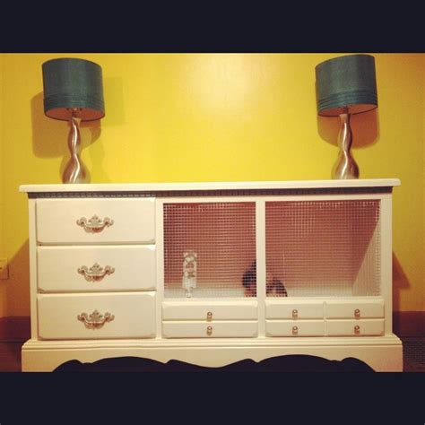 Diy-Bunny-Cage-From-Dresser