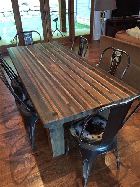 Diy-Butcher-Block-Pipe-Dining-Table