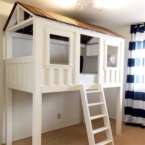 Diy-Cabin-Loft-Bed