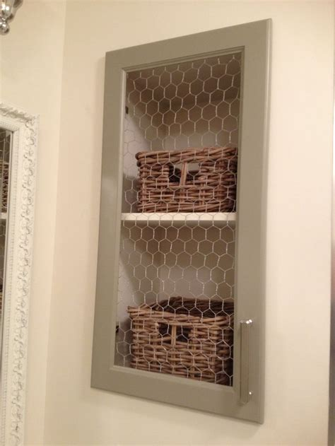 Diy-Cabinet-Doors-With-Chicken-Wire