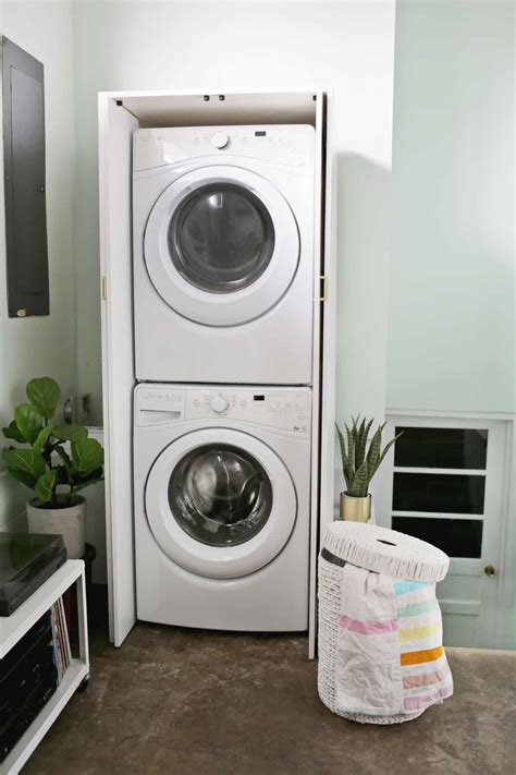 Diy-Cabinet-For-Stack-Laundry