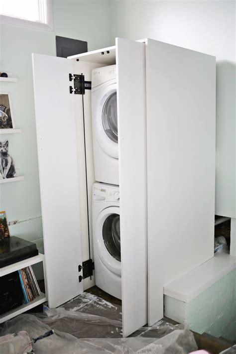 Diy-Cabinet-Washer-Dryer