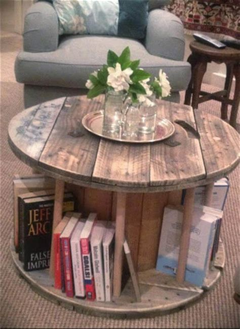 Diy-Cable-Drum-Coffee-Table