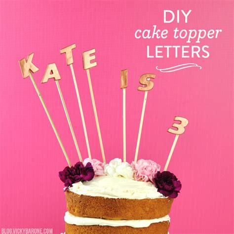 Diy-Cake-Topper-Letter