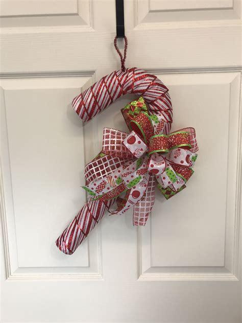 Diy-Candy-Cane-Door-Hanger