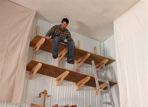 Diy-Cantilever-Garage-Shelves