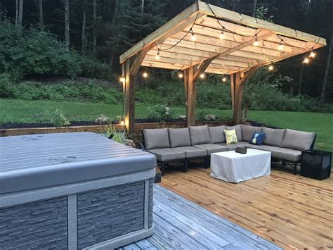 Diy-Cantilever-Patio-Overhang