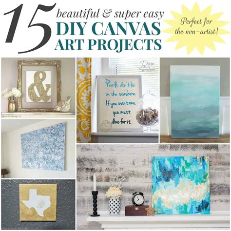 Diy-Canvas-Projects