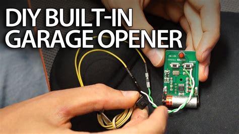 Diy-Car-Garage-Door-Opener