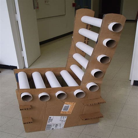 Diy-Cardboard-Bench
