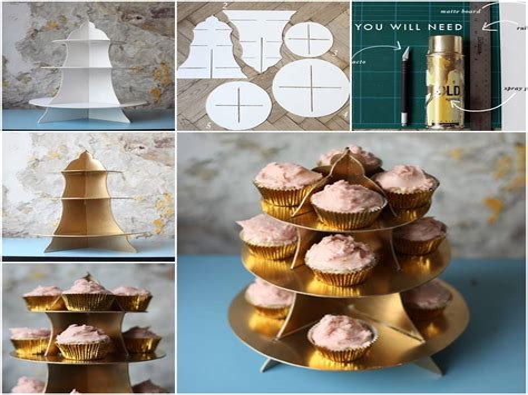Diy-Cardboard-Box-Cupcake-Stand